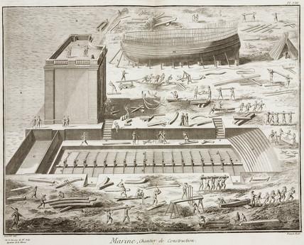 Shipyard, 1769.