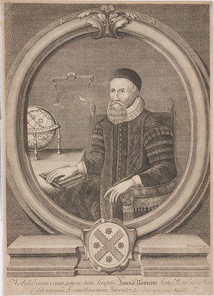 John Napier, Scottish mathematician, c 1600.
