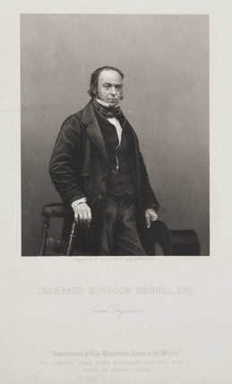 Isambard Kingdom Brunel, English civil engineer, c 1859.