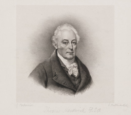 Thomas Hardwick, English architect, c 1800.