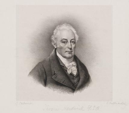 Thomas Hardwick, English architect, c 1800.