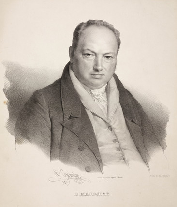 Henry Maudslay, English engineer, 1827.