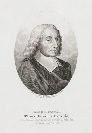 Blaise Pascal, French mathematician, physicist and theologian, c 1660.