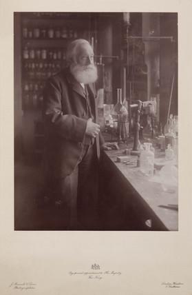 Sir William Henry Perkin, English chemist, late 19th century.