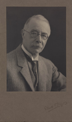 Arthur George Perkin, English chemist and son of Sir William Henry Perkin,  c 1920.