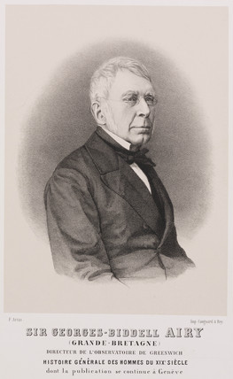 George Biddell Airy, English astronomer and geophysicist, c 1860-1880.