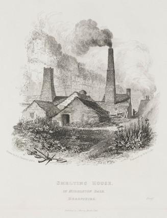 Smelting house, Middleton Dale, Derbyshire, 1818.
