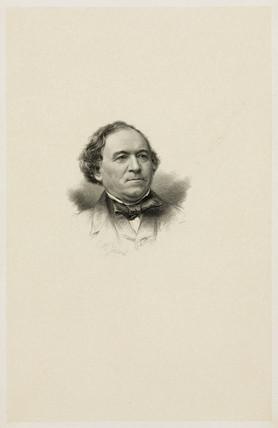 Profesor Jean Dumas, French organic chemist, mid 19th century.