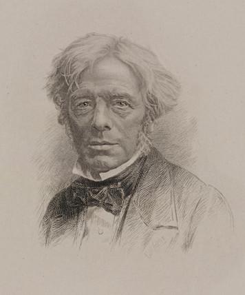 Michael Faraday, English physicist, c 1860.