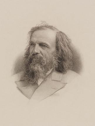 Dmitri Mendeleyev, Rusian chemist, late 19th century.