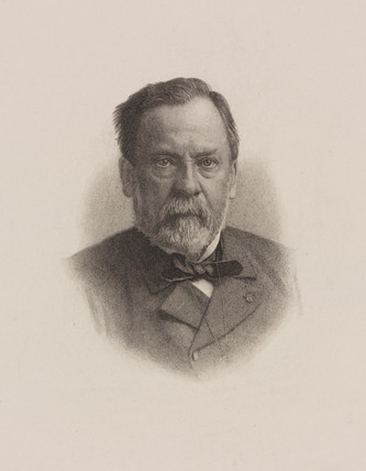 Louis Pasteur, French chemist and microbiologist, c 1870s.