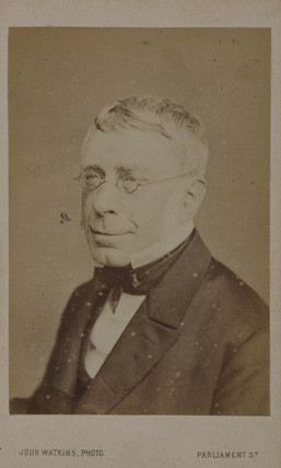 George Biddell Airy, English astronomer and geophysicist, c 1870.