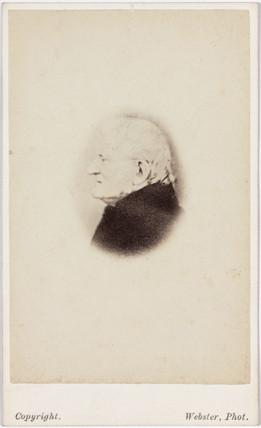 John Dalton, English chemist, c 1840.