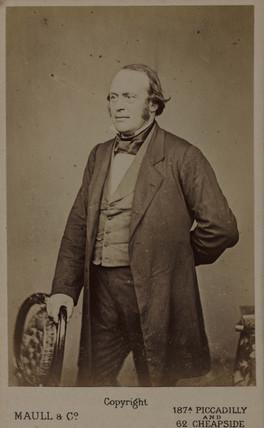 Jean Louis Agasiz, American naturalist and glaciologist, c 1850-1873.