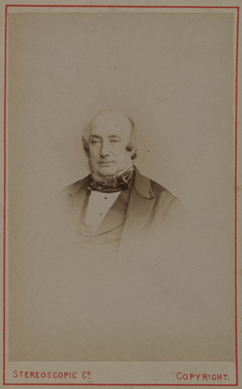 James Scott Bowerbank, British geologist, 1854-1866.