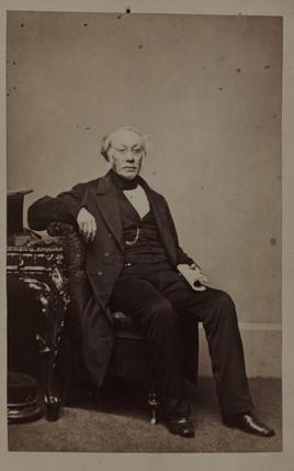 George Walker Arnott, Scottish botanist, c 1840-1868.