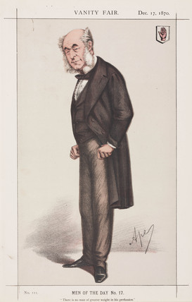 Sir William Ferguson, English surgeon, 1870.