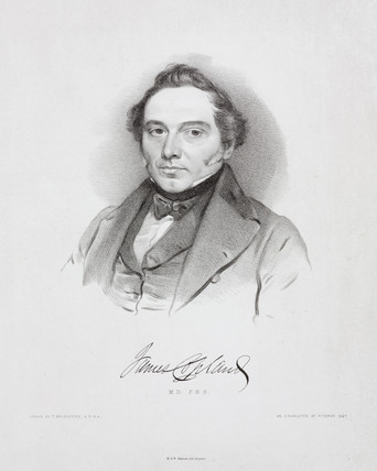 James Copland, British physician, c 1842.