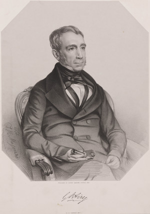 George Biddell Airy, English astronomer and geophysicist, 1852.
