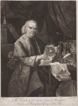 Richard Lovett, British physicist, c 1750-1780.