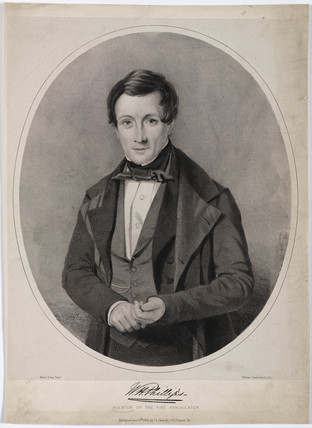 William Henry Phillips, English inventor, c 1850.