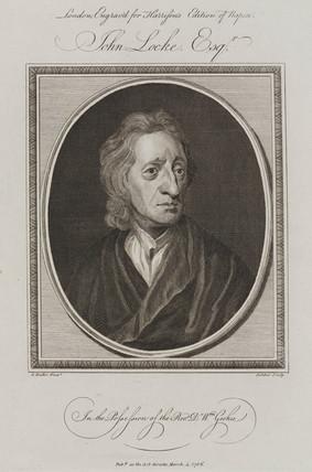 John Locke, English empiricist philosopher, c 1660-1700.