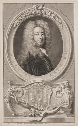 Samuel Garth, English physician and poet, c 1700s.