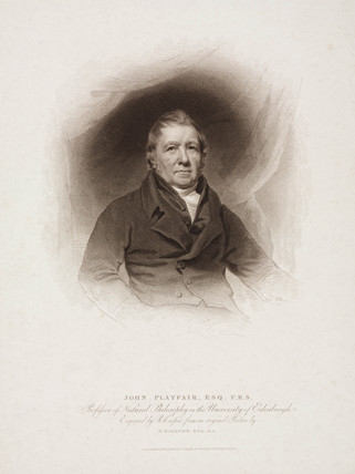 John Playfair, Scottish mathematician, physicist and geologist, early 19th century.