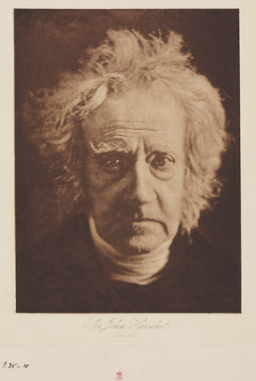 Sir John Herschel, English astronomer, c 1860s.
