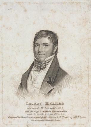 Thomas Hickman, c 1825.