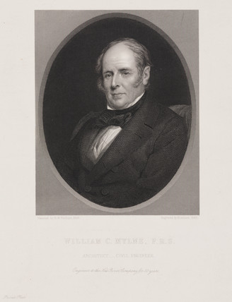 William Chadwell Mylne, British engineer and architect, 1856.