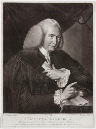 William Cullen, Scottish physician, 1772.