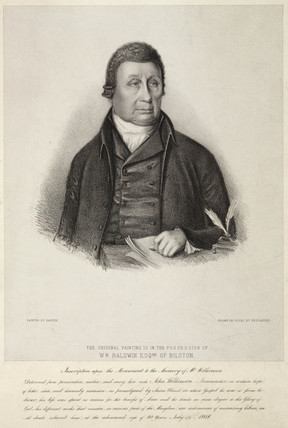 John Wilkinson, English ironmaster, c 1780s.