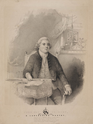 John Kay, English inventor, c 1750s.