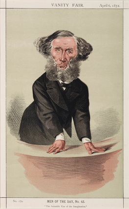 John Tyndall, Irish physicist, 6 April 1872.