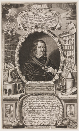 Johann Michaelis, German profesor of medicine, 1653.