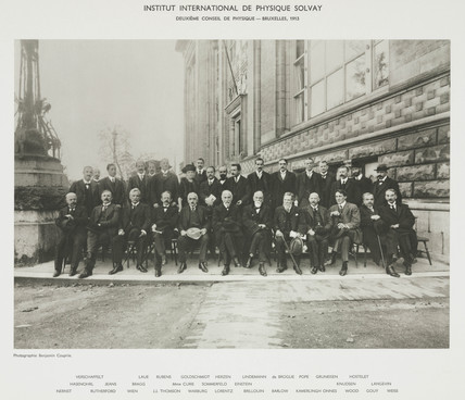 Second Solvay Physics Conference, Brusels, 1913.