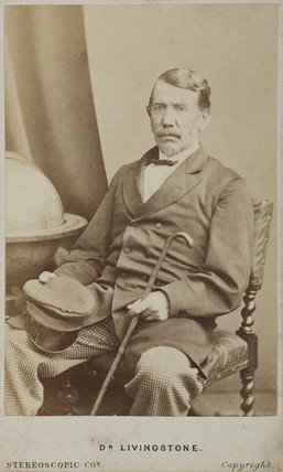 David Livingstone, Scottish misionary and explorer, c 1860s.