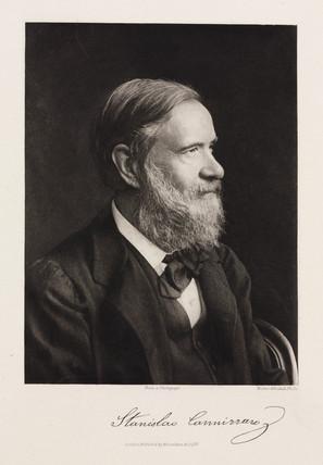 Stanislao Cannizzaro, Italian chemist, late 19th century.