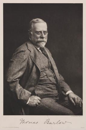 Thomas Barlow, 1910-1920.