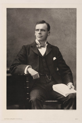 Ernest Henry Starling, English physiologist, early 20th century.