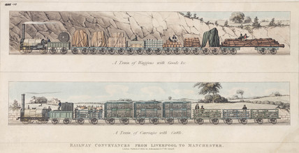 'Conveyances on the Liverpool & Manchester Railway 1834'.