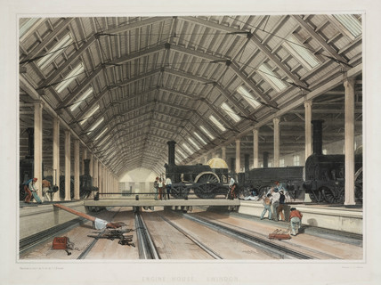 'Engine House, Swindon', 1846.