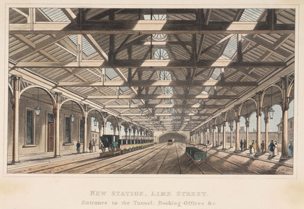 New Station, Lime Street, Liverpool, 1836.