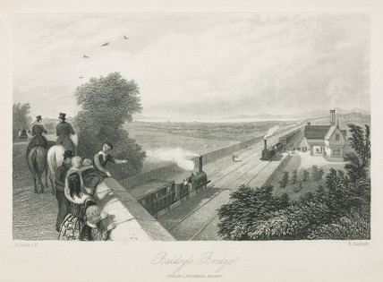 Baldoyle Bridge, Dublin & Drogheda Railway, 1836.