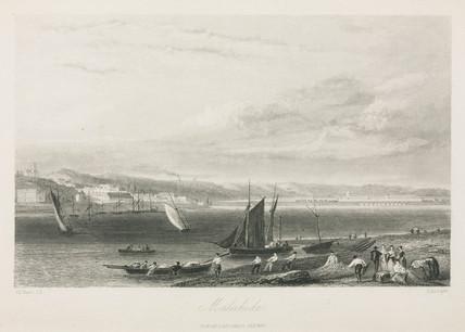 Malahide, the Dublin & Drogheda Railway, 1836.