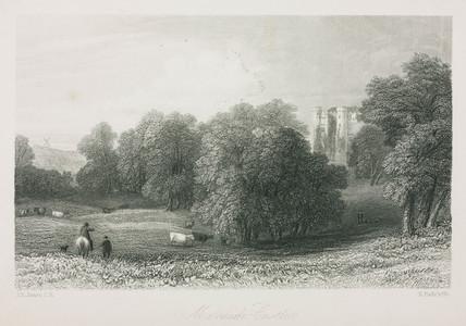 Malahide Castle, Ireland, 1836.