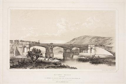 'Defford Bridge', Worcestershire, 1839.