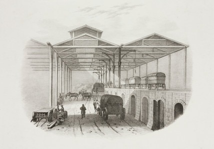 Depot at Phillimore, 1830.