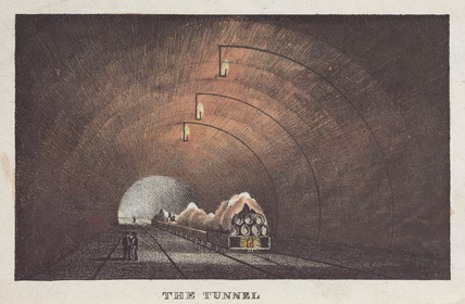 'The Tunnel', Liverpool & Manchester Railway', mid 19th century.